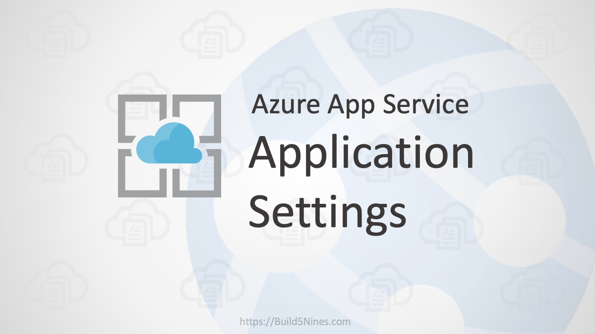 Azure Web App: Application Settings 2