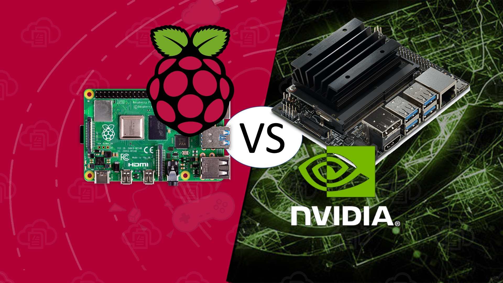 Raspberry Pi 4 vs NVIDIA Jetson Nano Developer Kit 3