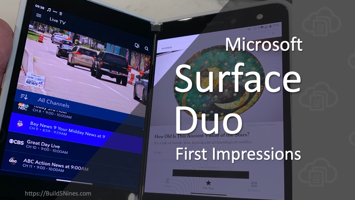Surface Duo First Impressions 2